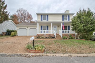 Nashville Single Family Home Under Contract - Not Showing: 5132 Village Trace