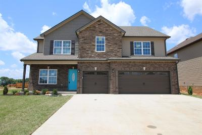 Clarksville Single Family Home Under Contract - Not Showing: 151 Summerfield