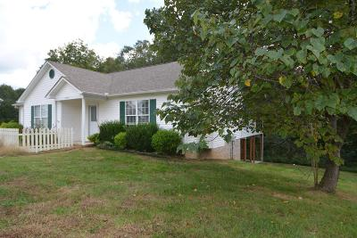 Cookeville Single Family Home Under Contract - Not Showing: 3772 Brookwood Dr
