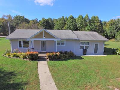 Cookeville Single Family Home Under Contract - Showing: 4712 Jim Smith Rd