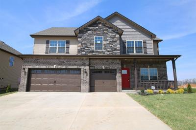Clarksville Single Family Home Under Contract - Showing: 458 Summerfield