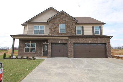 Clarksville Single Family Home Under Contract - Showing: 474 Summerfield