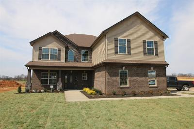 Clarksville Single Family Home Under Contract - Showing: 323 Summerfield