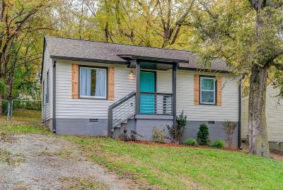 Single Family Home Under Contract - Showing: 934 Sharpe Ave