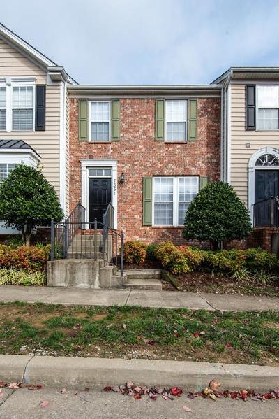 Nashville Rental For Rent: 7831 Heaton Way