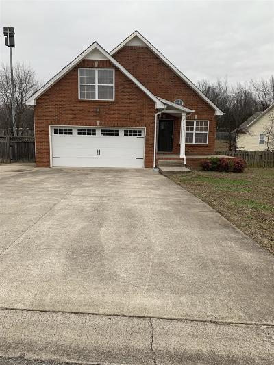 Clarksville Single Family Home For Sale: 3145 Clydesdale Drive