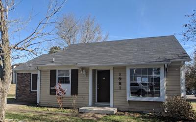 Clarksville Single Family Home For Sale: 1981 Timberline Way