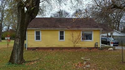 Hendersonville Single Family Home Under Contract - Showing: 213 Nokes Drive