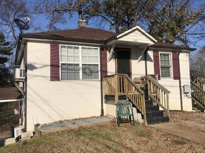 Clarksville Multi Family Home For Sale: 917 Woodland St
