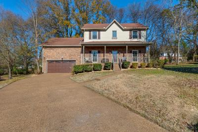 Goodlettsville Single Family Home Under Contract - Showing: 309 Cherokee Trl
