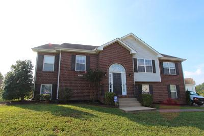 Clarksville Single Family Home Under Contract - Not Showing: 3409 Quicksilver Ln