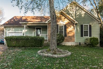 Goodlettsville Single Family Home For Sale: 109 Asbee Ct