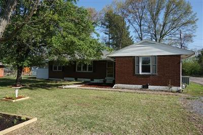 Clarksville TN Single Family Home Under Contract - Showing: $130,000