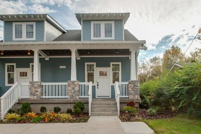 East Nashville Single Family Home For Sale: 2412 A N 16th St