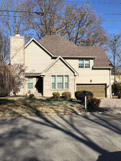 Nashville Single Family Home For Sale: 728 Bluewater Dr