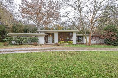 Nashville Single Family Home Under Contract - Not Showing: 2000 Earlington Dr