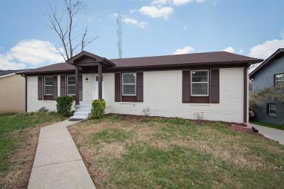 Nashville Single Family Home For Sale: 551 Huntington Pkwy