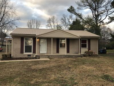 Lawrenceburg Single Family Home Under Contract - Not Showing: 318 Brannon St