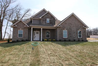 Clarksville Single Family Home Under Contract - Showing: 149 The Groves At Hearthstone