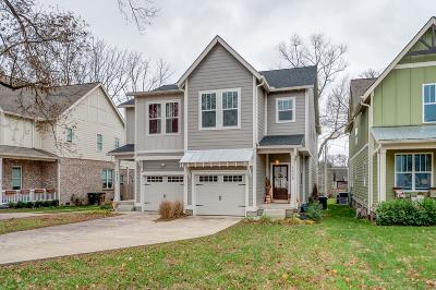 East Nashville Single Family Home Under Contract - Not Showing: 1598 Straightway Ave