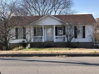 Clarksville Single Family Home Under Contract - Not Showing: 2757 N Whitfield Rd
