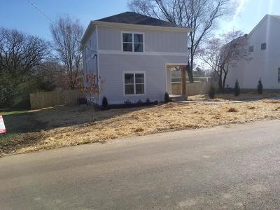 Nashville Single Family Home For Sale: 4002 Burrus St