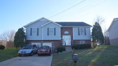 Christian County, Ky, Todd County, Ky, Montgomery County Single Family Home Under Contract - Not Showing: 1306 Archwood Dr