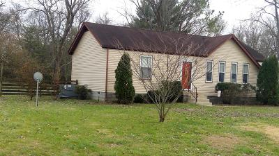 Smyrna Single Family Home For Sale: 104 Bluegrass Dr