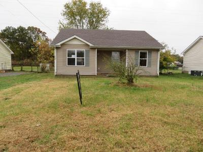 Oak Grove Single Family Home Under Contract - Not Showing: 1620 Hannibal Dr