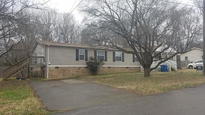 Old Hickory Single Family Home For Sale: 103 Shelby St