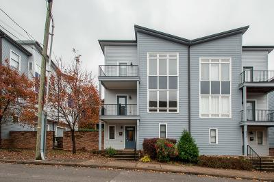 Nashville Condo/Townhouse For Sale: 514 Hume St #514