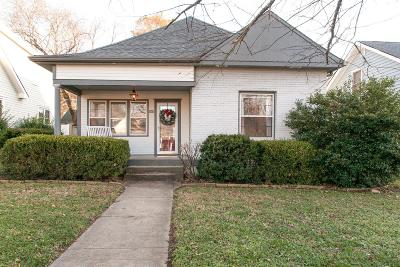 Sylvan Park Single Family Home Under Contract - Not Showing: 4403 Idaho Ave