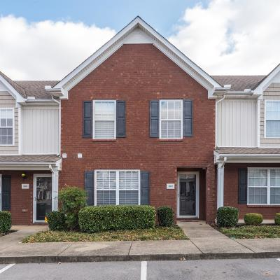 Smyrna Condo/Townhouse Under Contract - Not Showing: 3007 Burnt Pine Dr