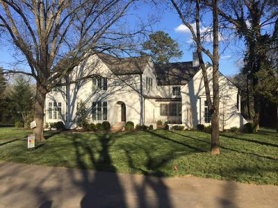 Nashville Single Family Home For Sale: 4006 Dorcas Drive