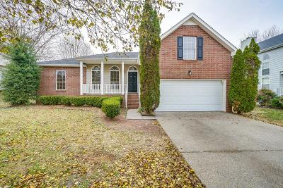 Gallatin Single Family Home Under Contract - Not Showing: 356 Huntington Dr
