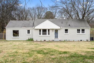Madison Single Family Home For Sale: 605 Westchester Drive