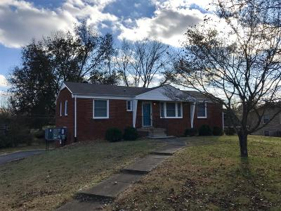Clarksville Single Family Home Under Contract - Showing: 2112 Belmont Dr
