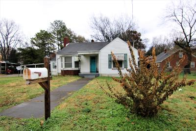 Maury County Single Family Home Under Contract - Not Showing: 206 S Cherry St