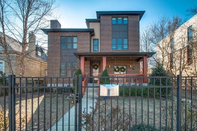 Nashville Single Family Home Under Contract - Showing: 1108 Russell Street