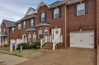 White House Condo/Townhouse For Sale: 1002 Indian Ridge Cir