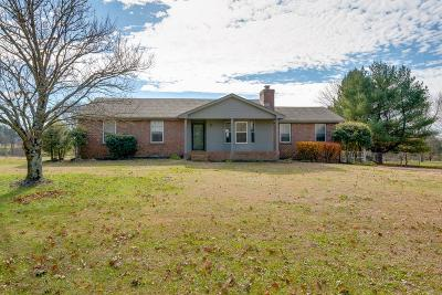 Mount Juliet Single Family Home Under Contract - Showing: 4217 Nonaville Road