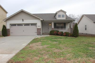 Christian County, Ky, Todd County, Ky, Montgomery County Single Family Home Under Contract - Showing: 1628 Buchanon Dr