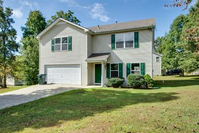 Dickson Single Family Home Under Contract - Not Showing: 100 Hickory Run