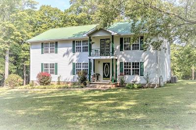Columbia  Single Family Home For Sale: 1550 Center Star Rd