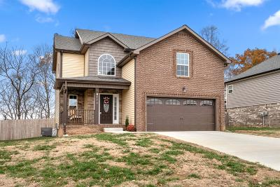 Clarksville Single Family Home Under Contract - Not Showing: 779 Banister