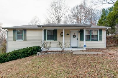 Ashland City Single Family Home Under Contract - Showing: 117 Annette Dr