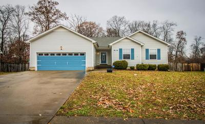 Clarksville TN Single Family Home Under Contract - Not Showing: $140,000