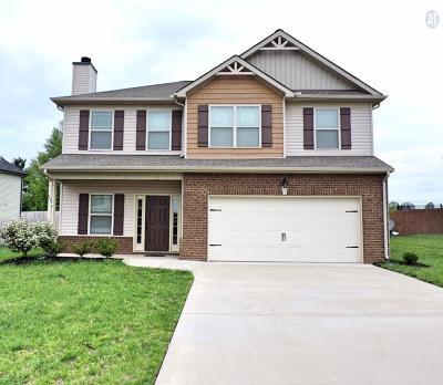 Clarksville Single Family Home For Sale: 747 Sturdivant Dr