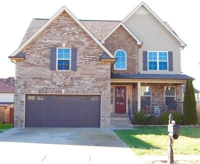 Clarksville Single Family Home For Sale: 3722 Tradewinds Ter