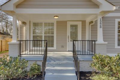 Nashville Single Family Home For Sale: 1228 N 2nd St